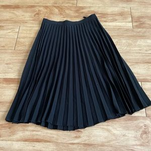 Beautiful black pleated skirt